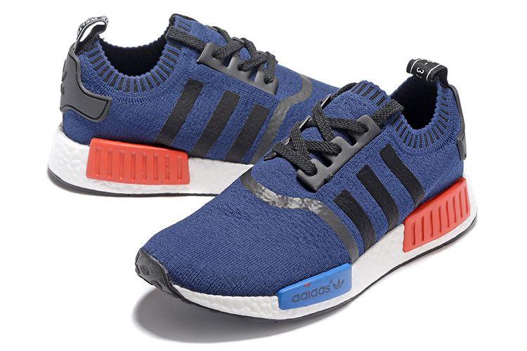 aa78ee6b5 adidas nmd runner pk white rd blu men women