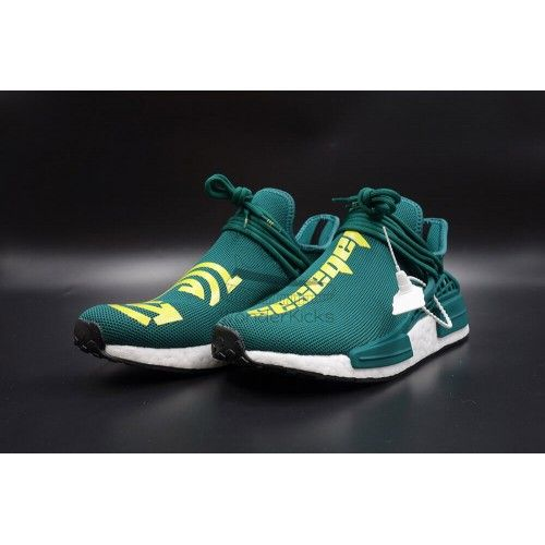 18aab155bb Pharrell Williams x NMD Human Race Calabasas Green