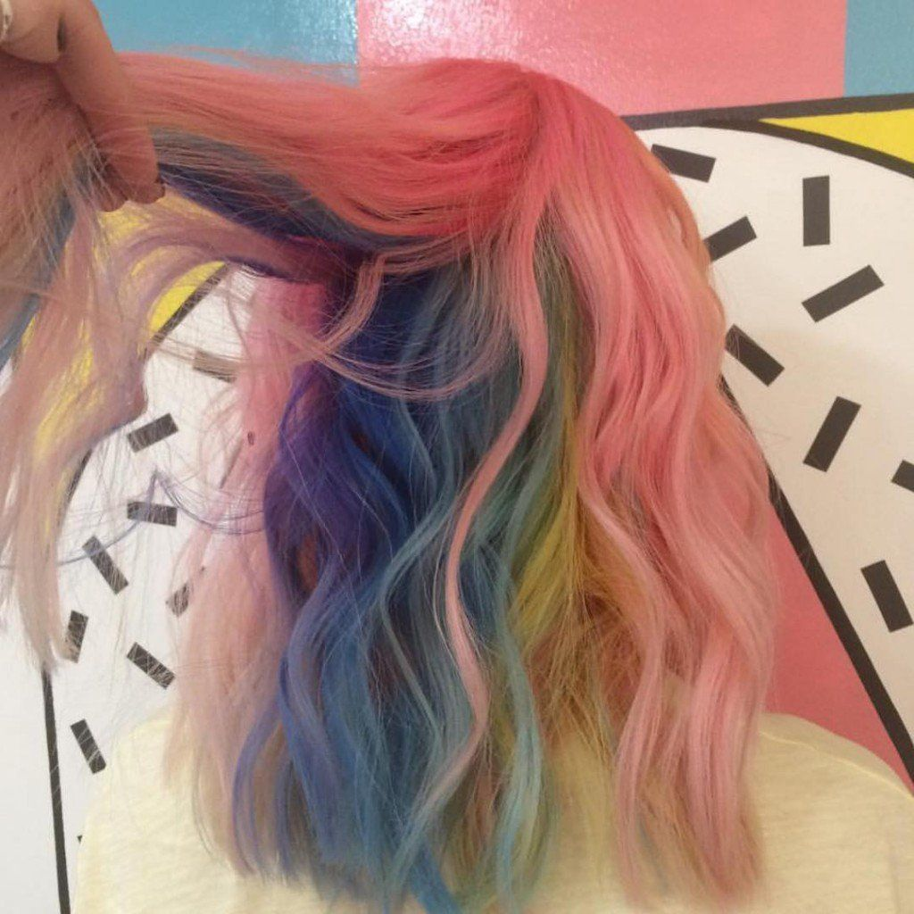 Cabeloarcoiris hair ideas pinterest hair coloring