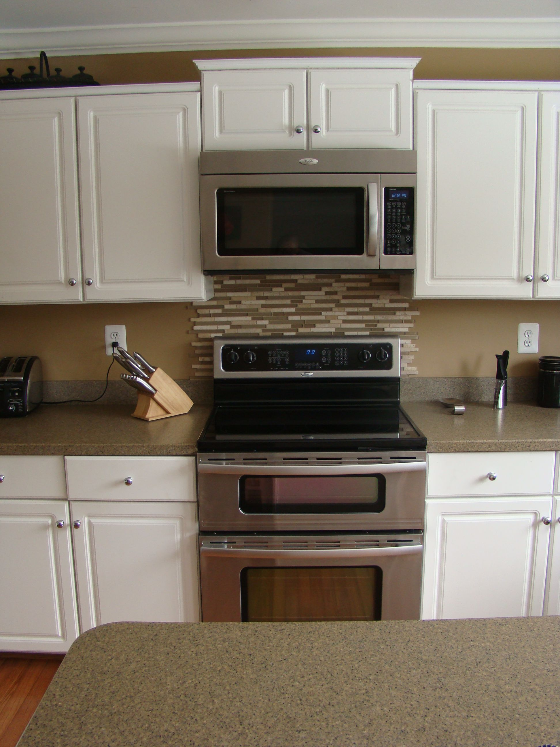 Stove Backsplash Kitchen Tiles
