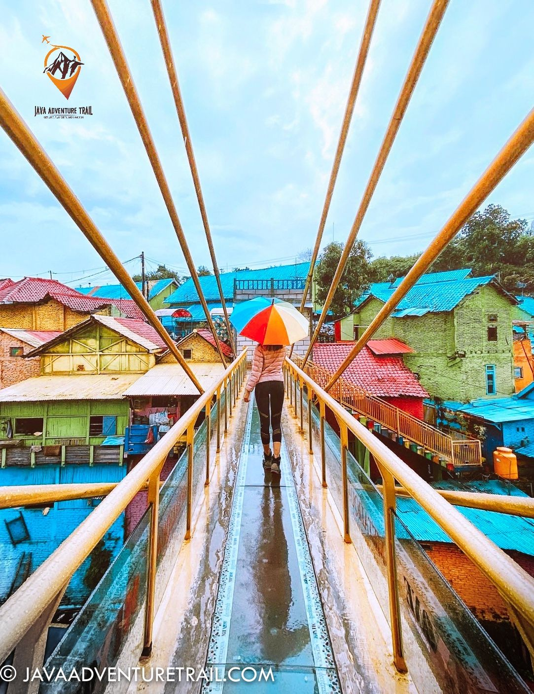 Exploring The Rainbow Village In Malang Town It S Part Of Our 4 Days Trip To Explore East Java Ind In 2020 East Java Day Trip Trip