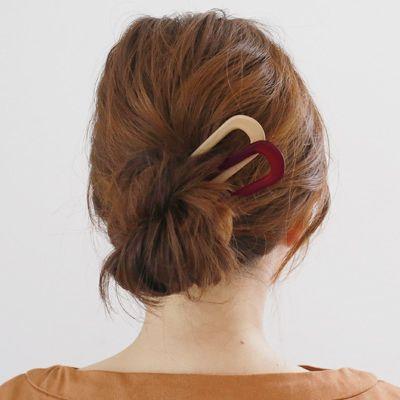 ひとつあればいい女 おしゃれヘアが叶うu字コームが素敵なんです