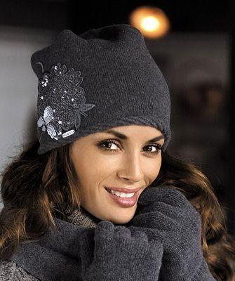 Модные вязаные шапки сезона осень-зима 2018- 2018 90ad55091d900