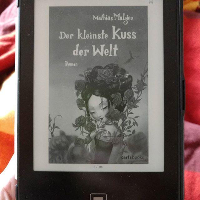 #DerKleinsteKussDerWelt von #MathiasMalzieu ist ein sooo tolles Buch  #buch #bücher #book #books #booklove #tolino #ebook #ebookreader #buchliebe #bücherwurm #lesen #read