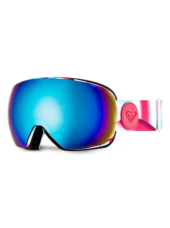 Roxy Popscreen Snowboard Goggles Pop Snow Ocean Spray Granatina Bgd6 Snowboard Goggles Ski Goggles Women Online Shop Accessories