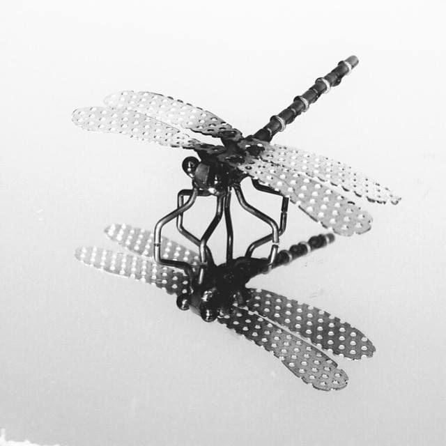 Metal Dragonfly handmade by Ray Mercadante  raymercadante.etsy.com