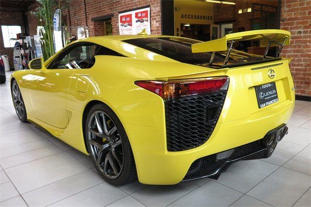 2012 Lexus Lfa For Sale At San Francisco Toyota For Usd 459k Lexus Lfa Lexus Japanese Sports Cars