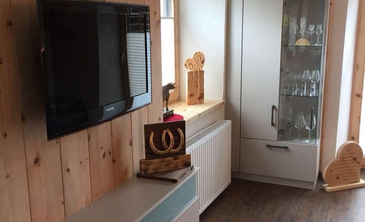 Moderne Zirbenstube Wohnzimmer Couch Modern Stube Zirben