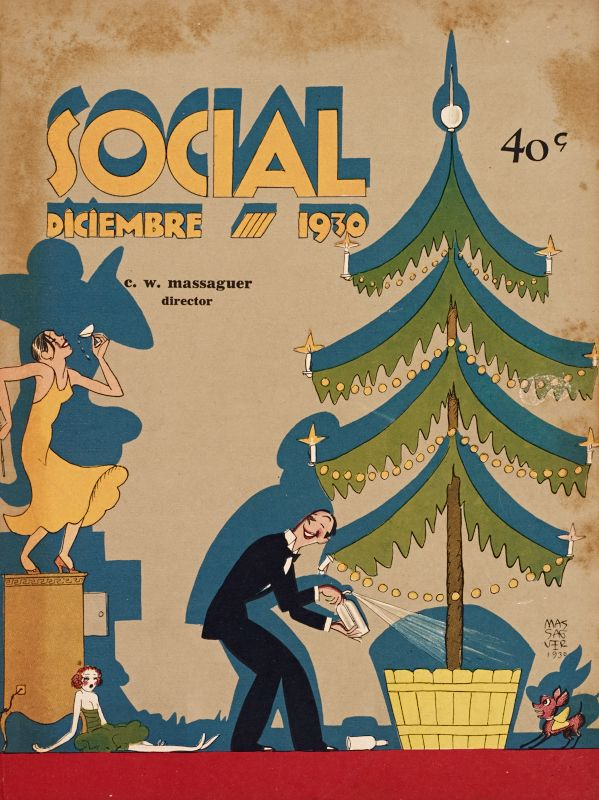 Social - Front cover: Diciembre, 1930