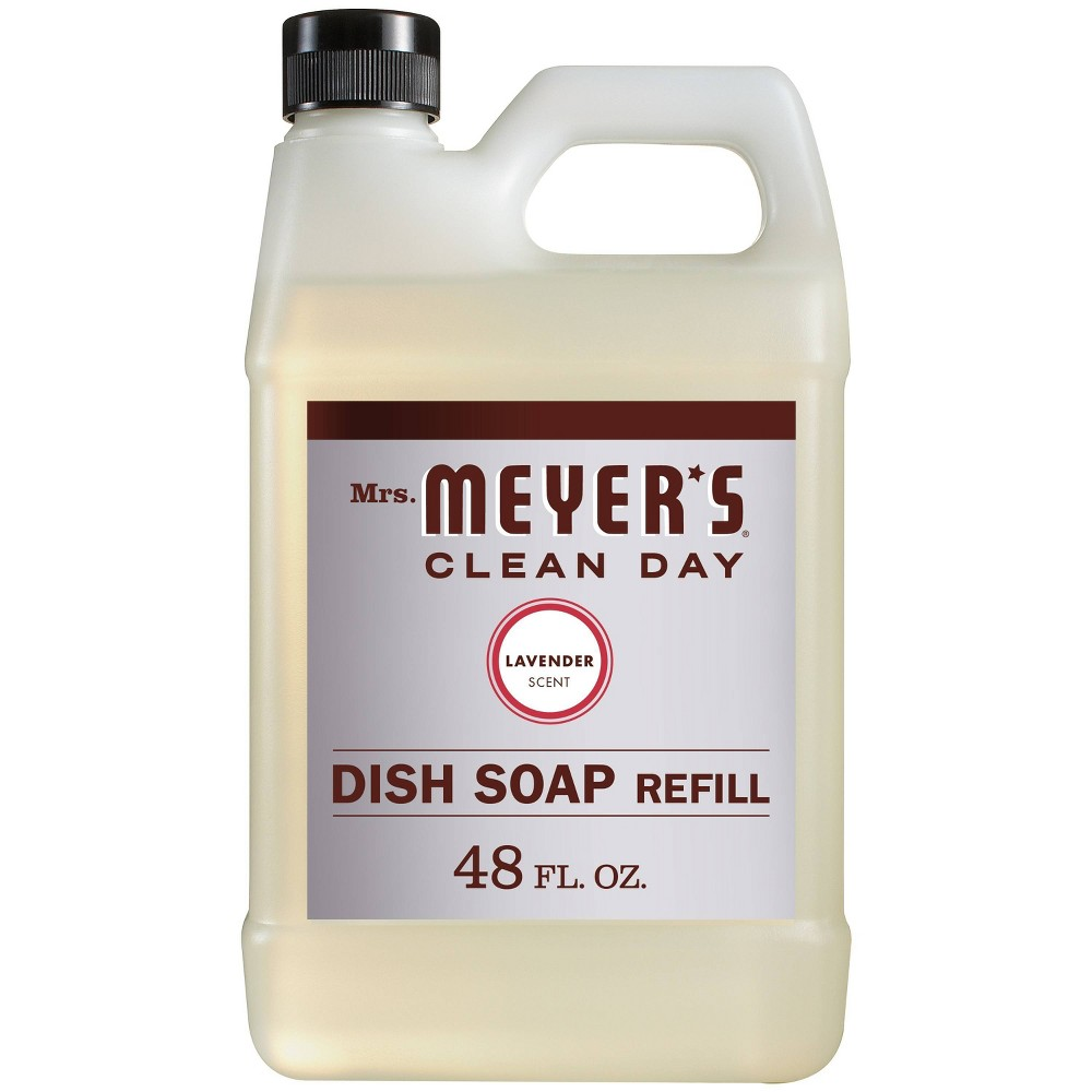 Mrs Meyer S Lavender Liquid Dish Refill 48 Fl Oz In 2019 Dishes Lavender Scent Lavender