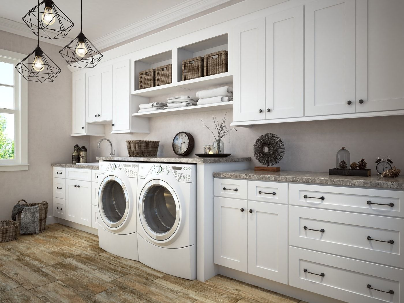 23++ Laundry shaker cabinets best