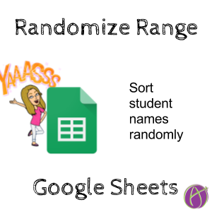 In Google Sheets You Can Randomize A List Of Names Or Other Data Randomize Range Is Available In Right Clic Google Sheets Teacher Tech First Grade Sight Words