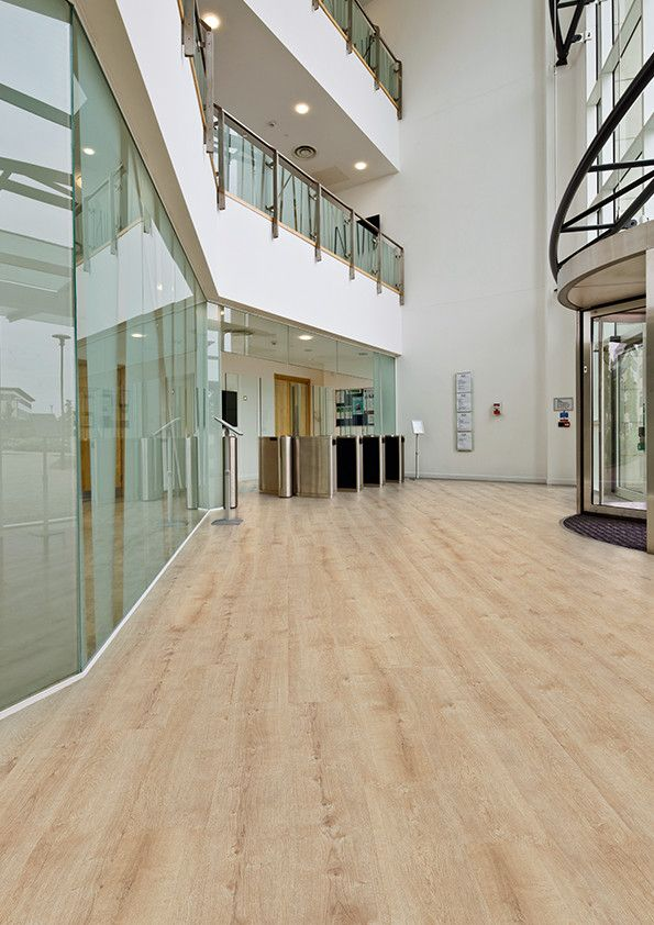 Affinity255 vinyl flooring in champagne oak for office for Floor sheet for office