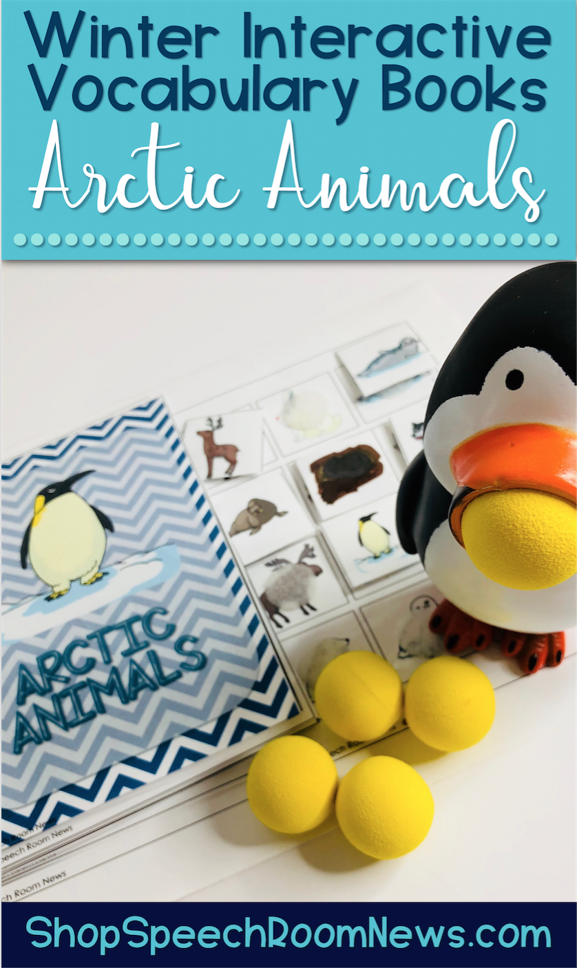 These Interactive Preschool Vocabulary books are designed for teaching vocabulary concepts related to Winter. The interactive books are designed to allow students to match pictures to each page of the book using velcro