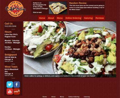 Mexican Restaurant Free WordPress Theme Freetemplatesonline