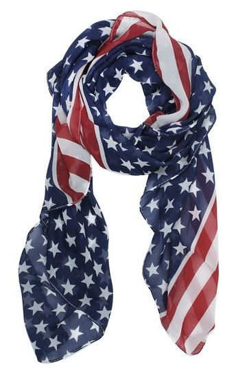 Cute Stars & Stripes Scarf Only $1.99! - http://www.rakinginthesavings.com/cute-stars-stripes-scarf-only-1-99/