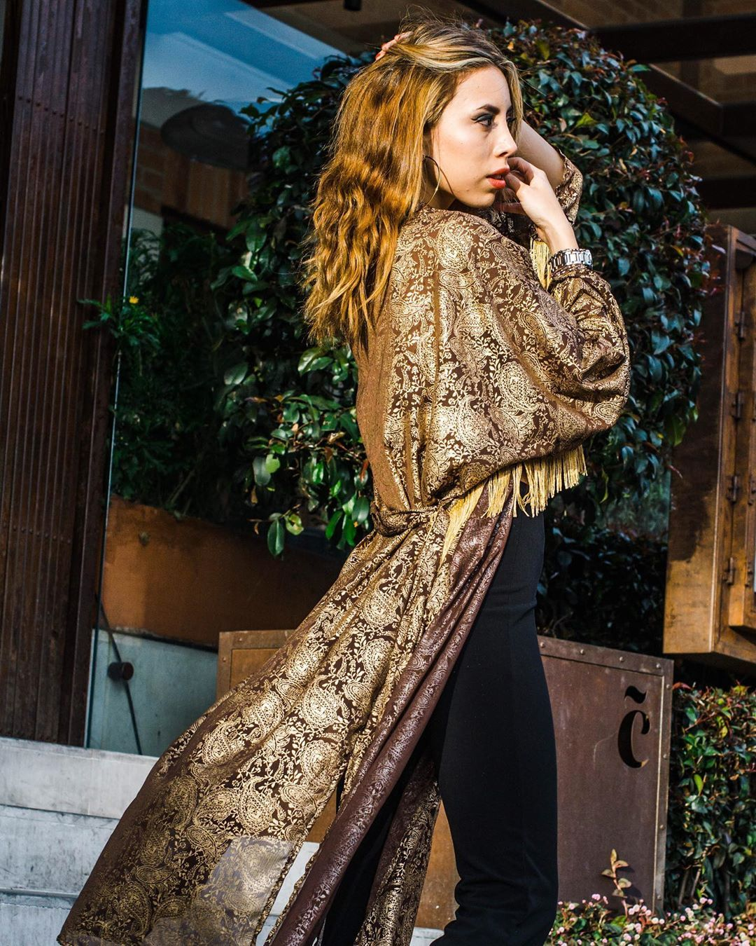 Gold Kino Ph Photos Byjuanma Model Pauumor Fashion Outfit Outfitoftheday Luxury Girl Fashiongirl Black Insta Outfits Fashion Outfit Inspirations