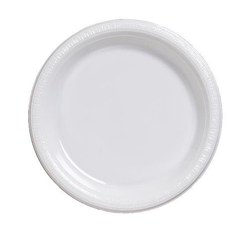 White 7\  Plastic Lunch Plates - 600 Plates  sc 1 st  Pinterest & White 7\