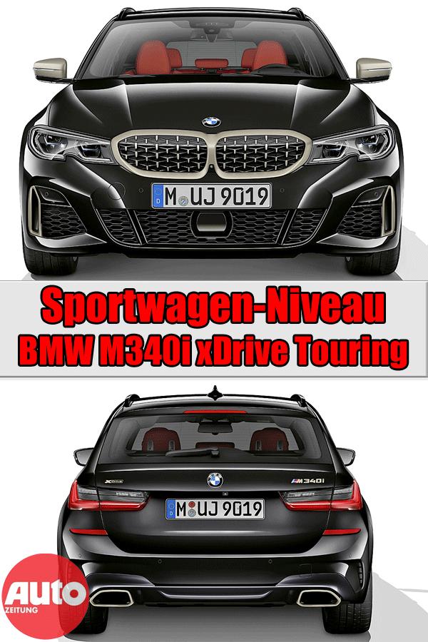 Bmw M340i Xdrive Touring 2019 Motor Ausstattung Autozeitung De Bmw Sportwagen Autozeitung
