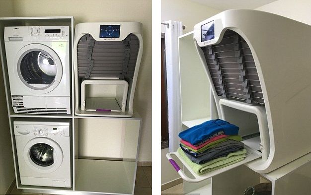 This Machine Will Iron And Fold Your Laundry In Less Than A Minute
