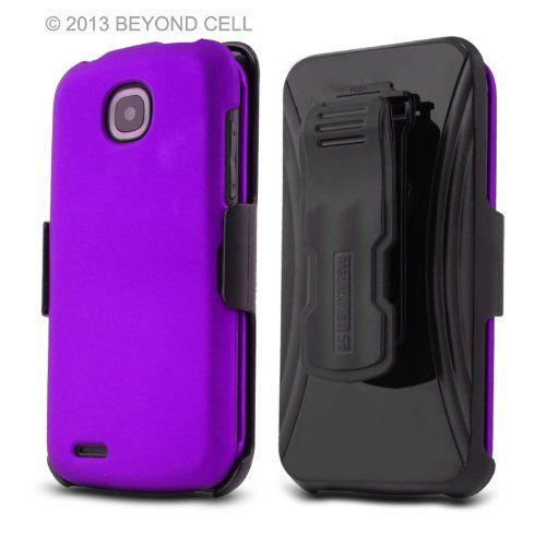 Purple, 3 In 1 Combo Set Protex Case Cover Protector With Kickstand Belt Clip Holster For Pantech Marauder R910l http://www.smartphonebug.com/accessories/15-coolest-pantech-marauder-cases-and-covers/