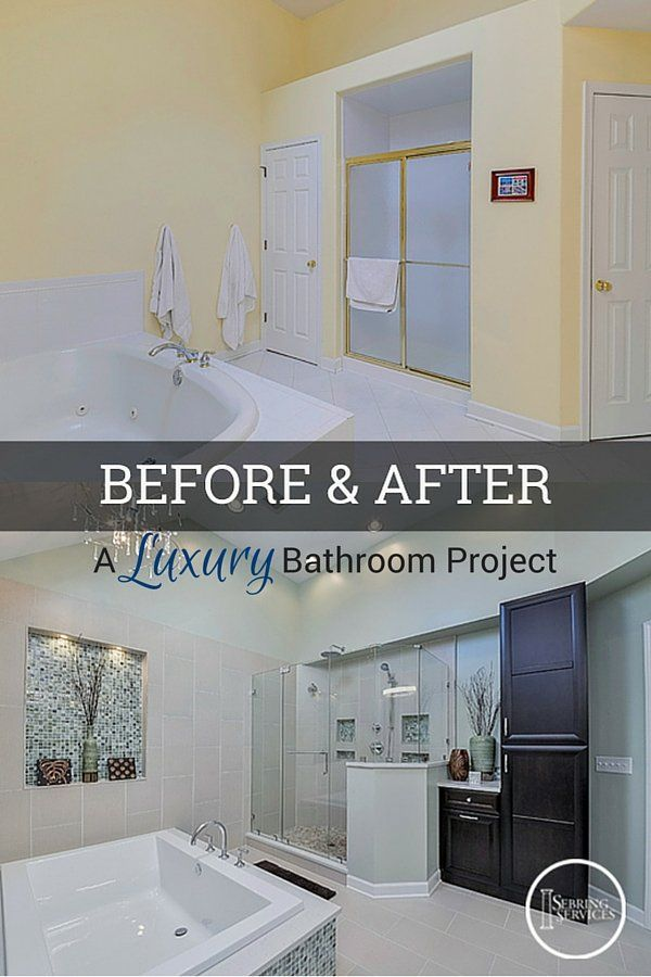 Before After A Luxury Naperville Bathroom Remodel Pinner - Naperville bathroom remodeling