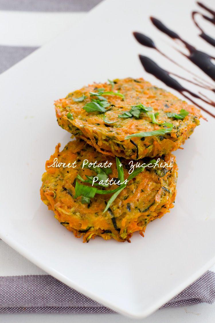 Sweet Potato and Zucchini Patties