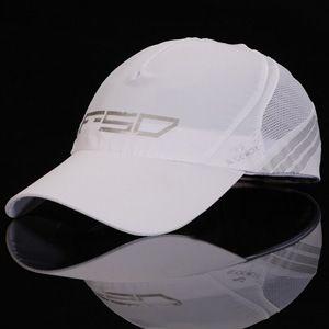 TOP 2014 New HOT Verão novos homens wicking, secagem rápida secagem rápida boné de beisebol cap cap viseira chapéu de sol Frete grátis 19.99