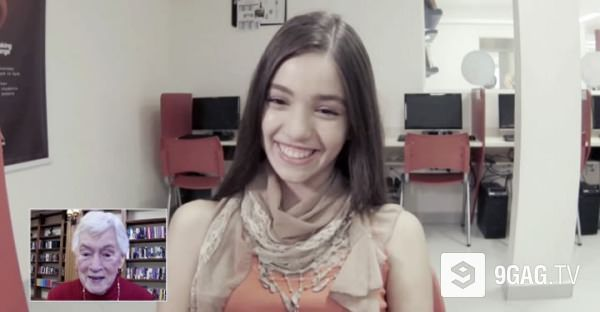 Brazilian Students Learn English By Talking To Lonely Chicago Seniors And It's So Sweet | 9GAG.tv