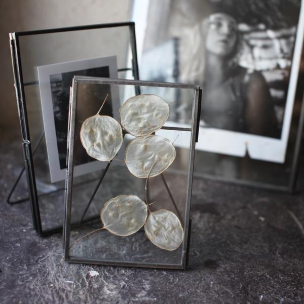 Danta Double Sided Zinc Glass Frame Portrait Various Sizes