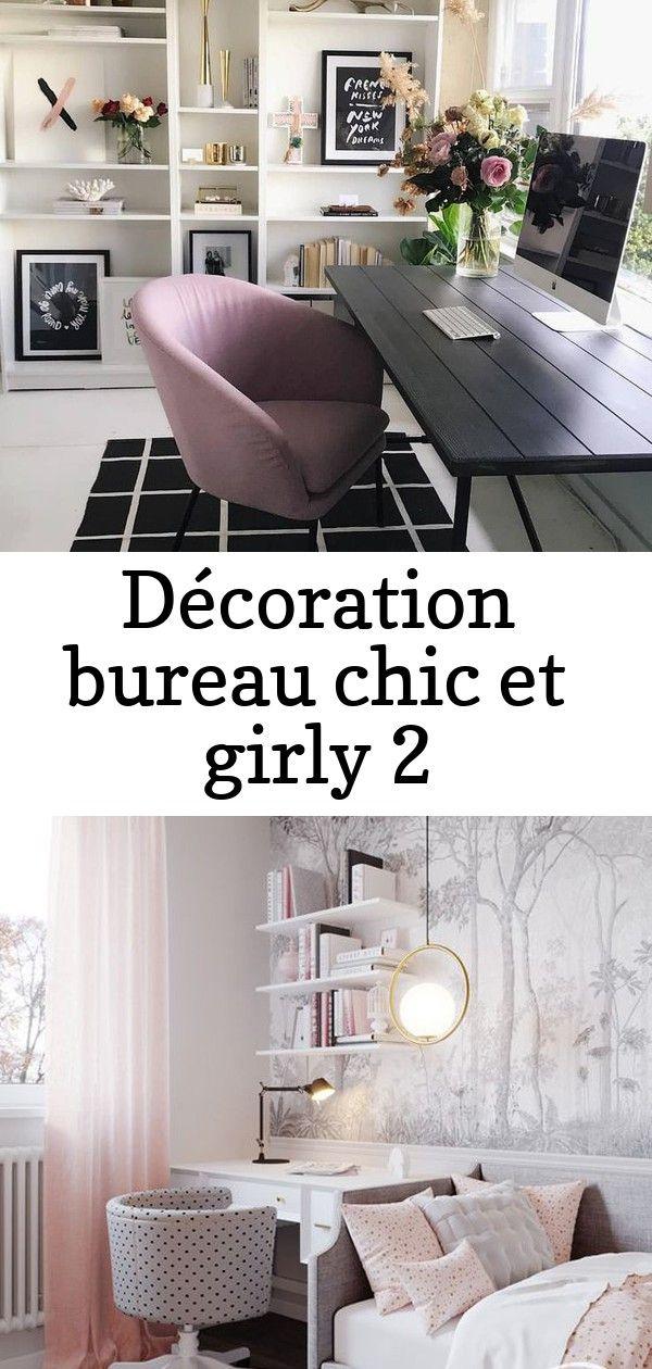 Decoration Bureau Chic Et Girly Deco Pour Une Chambre De Fille