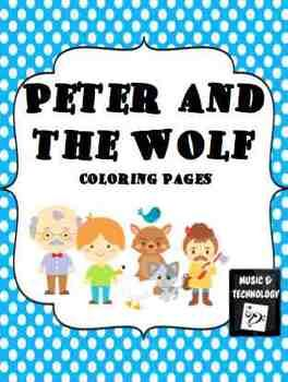 Peter And The Wolf Coloring Pages Music Education Music
