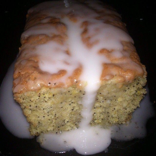 Plum cake limon&semillas de amapola