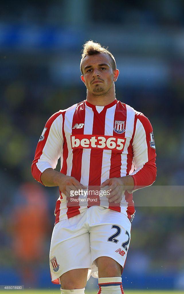 Xherdan Shaqiri Of Stoke City During The Barclays Premier League Stoke City Barclay Premier League Premier League Matches