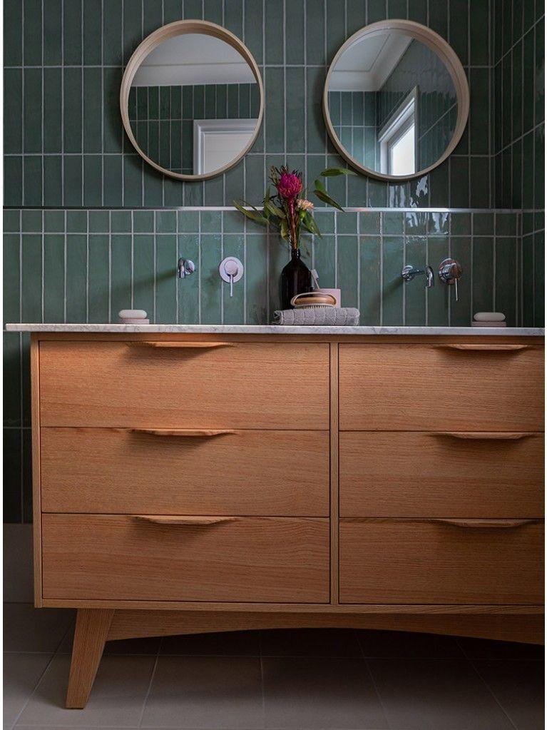 McQueen 1500 Natural   Timber vanity, Bathroom vanity ...