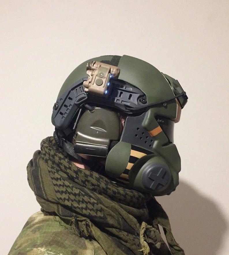 Titanfall Militia airsoft pilot helmet/mask Etsy in 2020