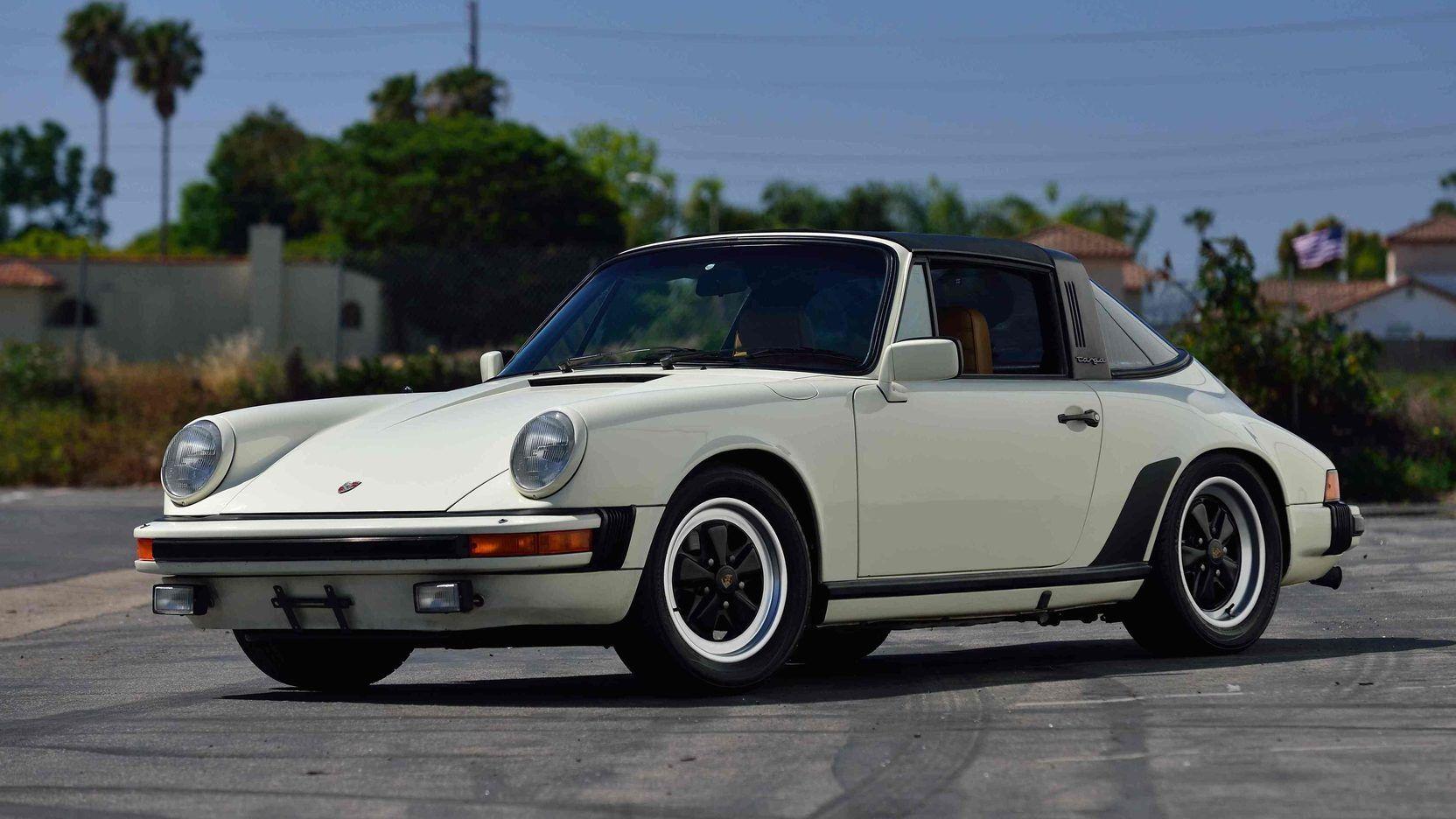 1982 Porsche 911sc Targa 1 Print Image Sold No Reserve For 35k Porsche Vintage Porsche Porsche 911 Targa