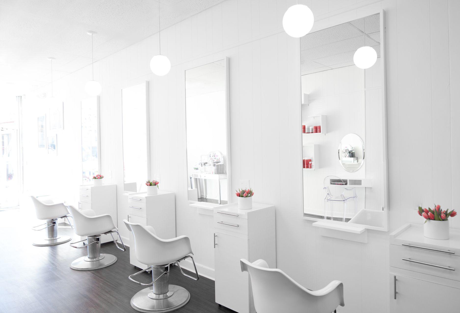 modern hair salon | Home/Decor | Pinterest | Salons, Modern and ...