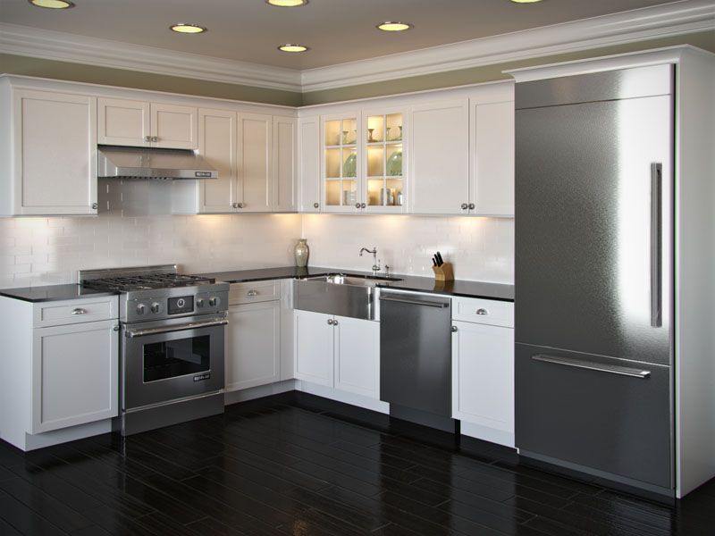 Pictures of l shaped kitchen with island shaped kitchen for L shaped kitchen design