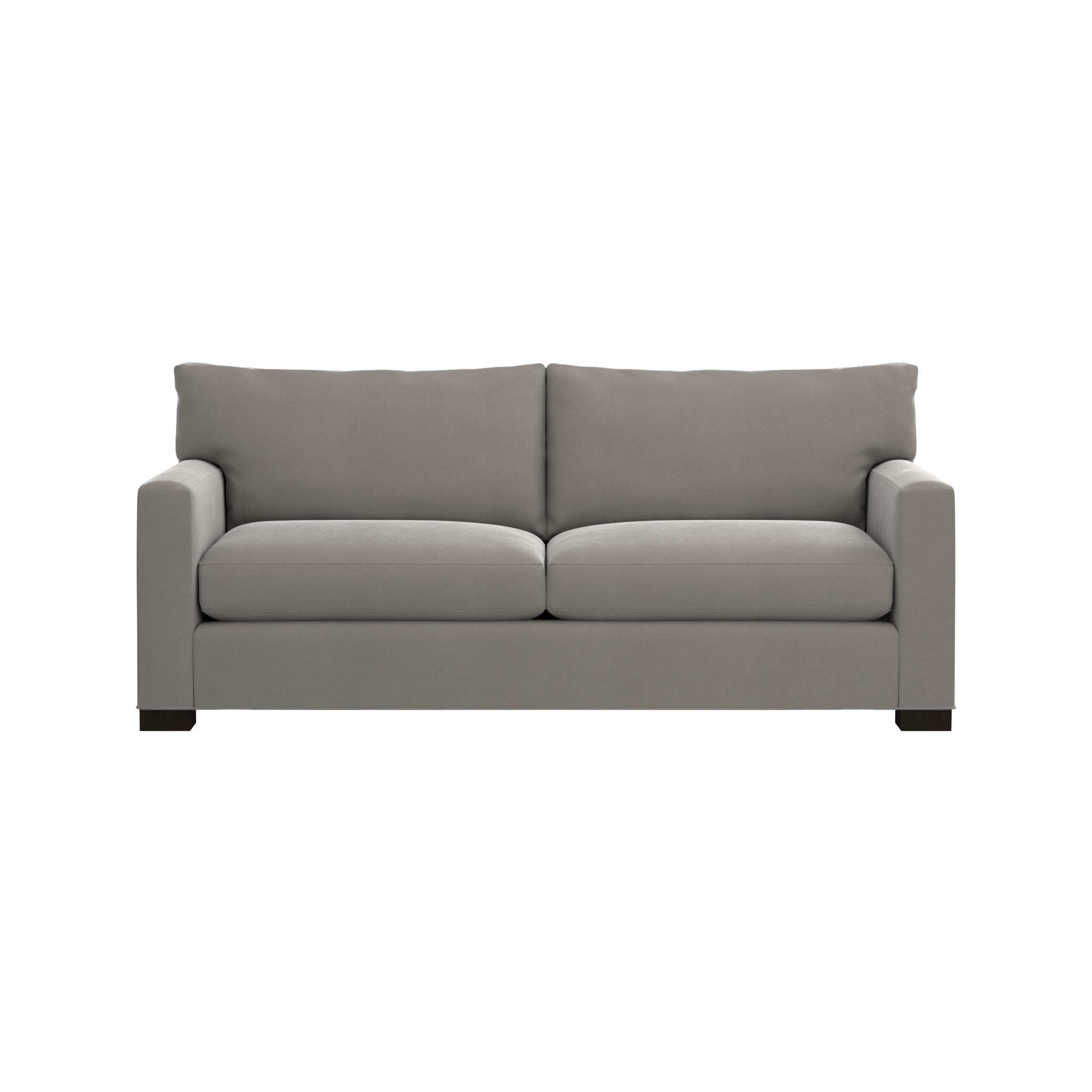 Merveilleux Shop Axis II Grey Microfiber Sofa. Track Arms Create A Clean Look, And Low