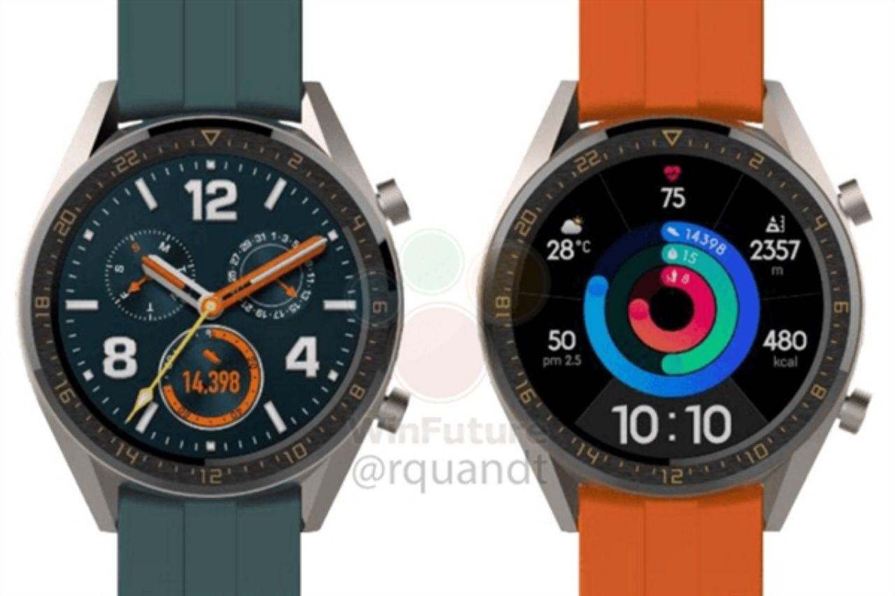 Huawei Watch Gt Active And Gt Elegant Exposure Debuting Along With The P30 Pro Trainerstechs Huawei Watch Smart Watch Huawei