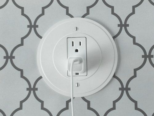 The Amazing Power Circle The Round Switch Plate And Outlet Cover Buy More And Save Amazon Com Outlet Covers Switch Plates Home Decor