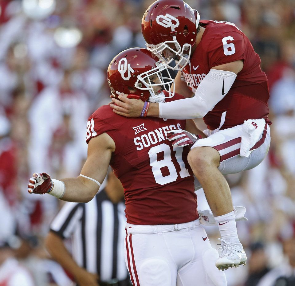 OU football Baker Mayfield leads Sooners past Louisiana