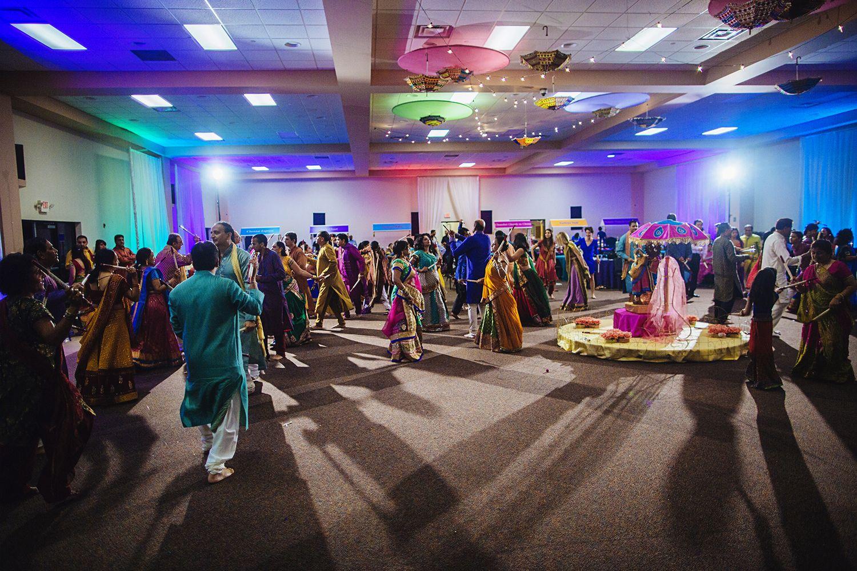 garba dandiya raas prewedding ceremony for a
