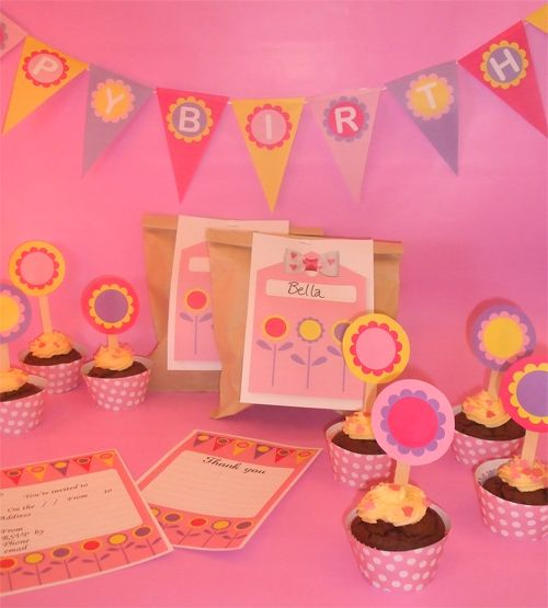 free printable party decoration