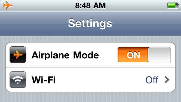 If you put your phone on airplane mode, it will charge twice as fast