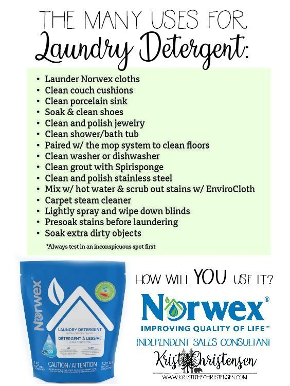 Norwex Powder Laundry Detergent Formerly Known As Ultra Power Plus
