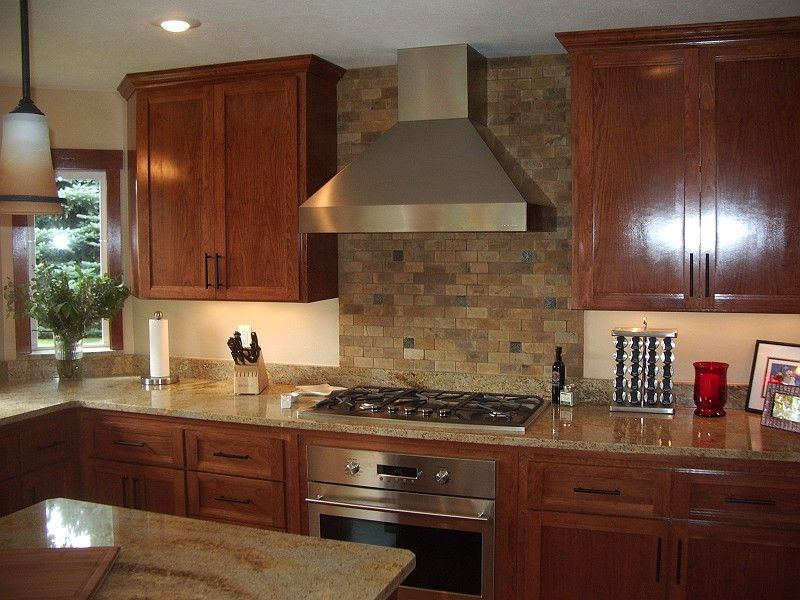 Not A Huge Fan Of The Brick But Really Can See The Rest Of The Kitchen Working Brick Kitchen