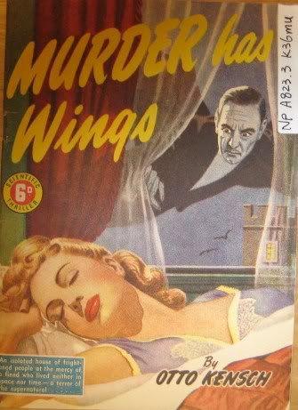 Murder Has Wings by Otto Kensch