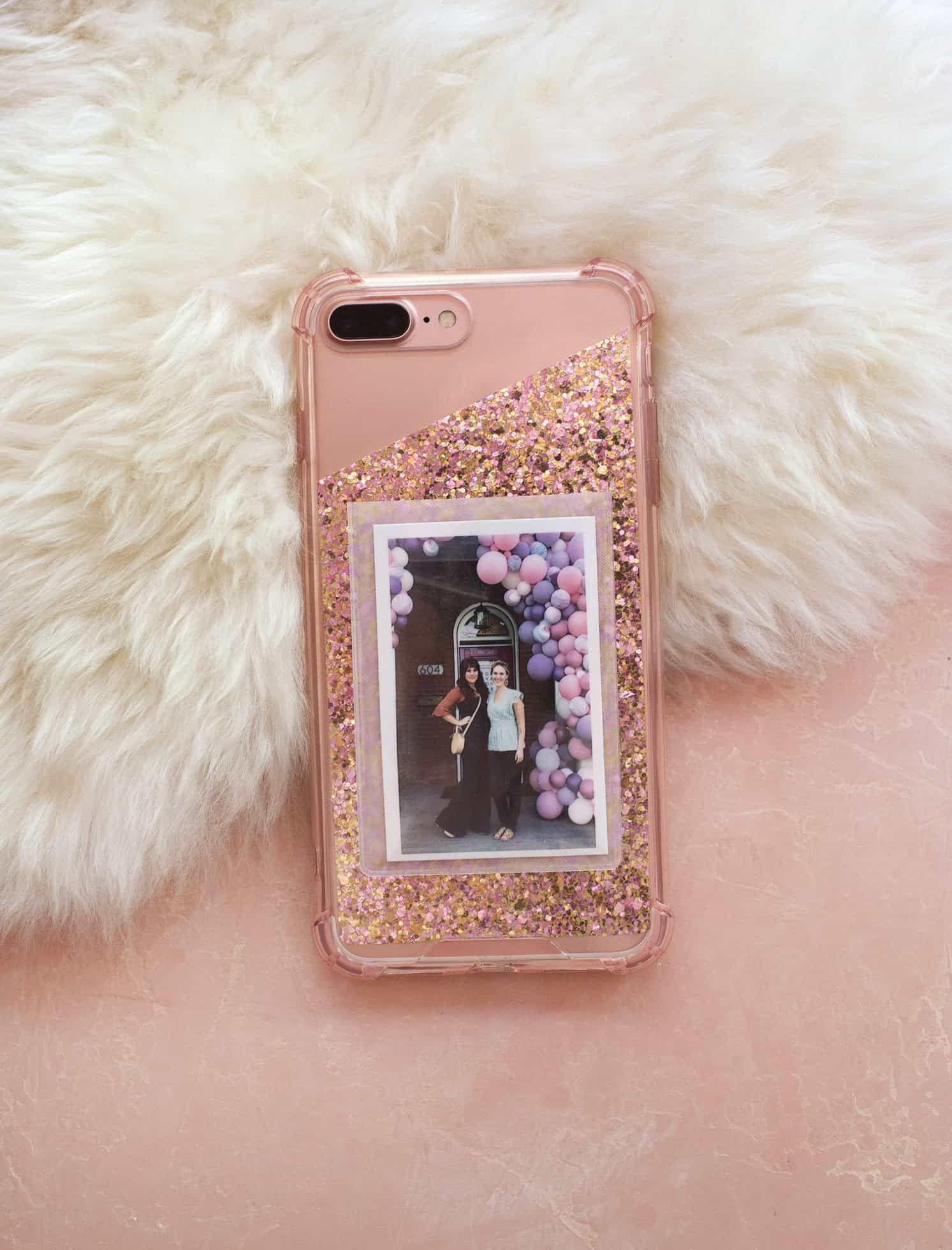 Diy Photo Cell Phone Case She S Crafty Diy Phone Case